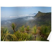 Cunninghams Gap- Mount Mitchell and Scenic Rim. Qld. Poster