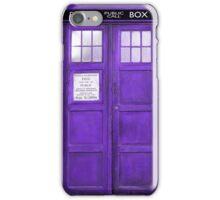 Purple Tones Retro Phone Boot iPhone Case/Skin
