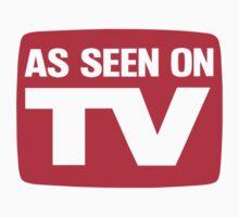 As Seen On TV by Oscar Gonzalez