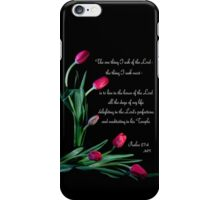 Psalm 27:4 iPhone Case/Skin