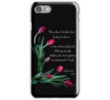 Psalm 27:4 iPhone Case/Skin