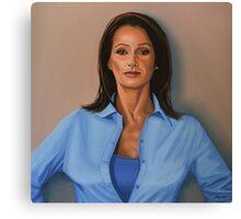 Nadia Comaneci painting Canvas Print