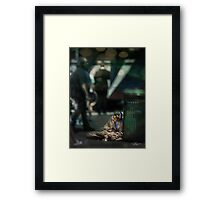 NYC: 5th Ave. At Central Park Framed Print