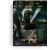 NYC: 5th Ave. At Central Park Canvas Print