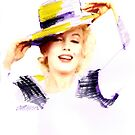 Marilyn In A Hat by Seth  Weaver
