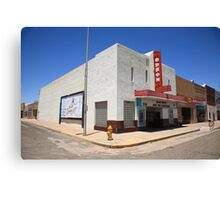 Route 66 - Odeon Theater Canvas Print