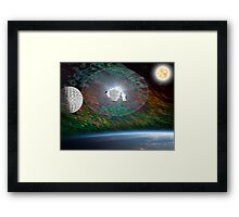Out of Hyperspace Framed Print