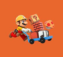 Super Mario Maker T Shirt by jaffrywardjr