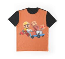 Super Mario Maker T Shirt Graphic T-Shirt