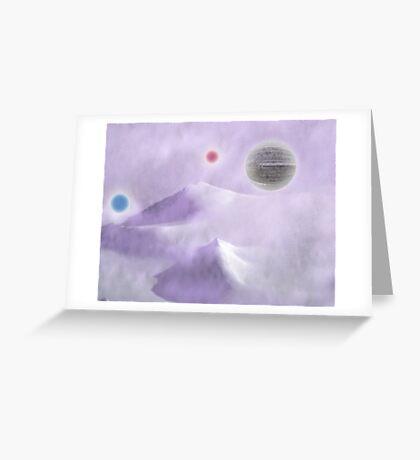 Peaks Greeting Card