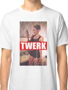 Miley Cyrus Twerk Team New Tee Classic T-Shirt
