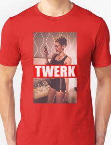 Miley Cyrus Twerk Team New Tee T-Shirt