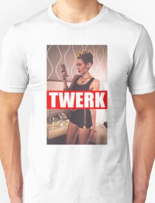 Miley Cyrus Twerk Team New Tee T-Shirt