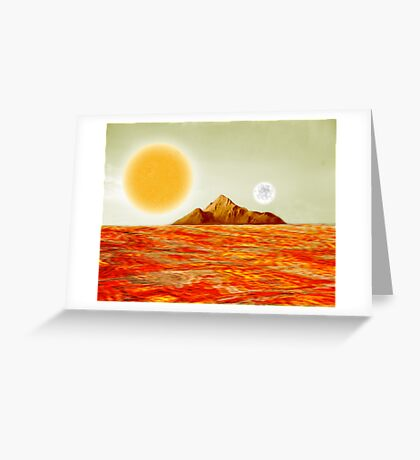 Lavaland Greeting Card