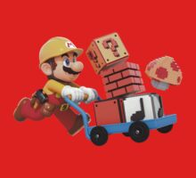 Super Mario Maker T Shirt One Piece - Short Sleeve