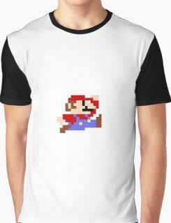 FRESH NEW AND RETRO MARIO! Graphic T-Shirt