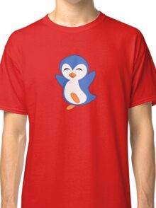 Happy Feet Dancing Penguin Classic T-Shirt
