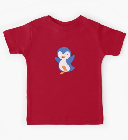 Happy Feet Dancing Penguin Kids Tee