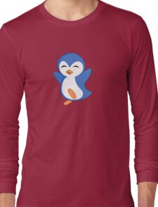 Happy Feet Dancing Penguin Long Sleeve T-Shirt