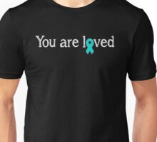 You are loved - Food Allergy Ribbon Unisex T-Shirt