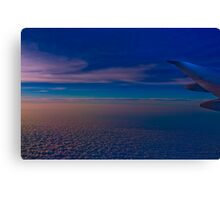 Flight to New York Canvas Print