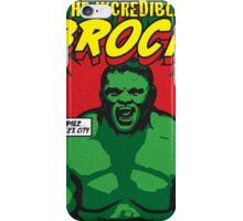 The Incredible Brock iPhone Case/Skin