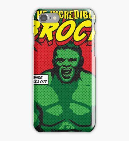 The Incredible Brock iPhone Case/Skin