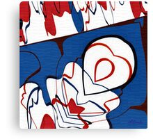 Getting Crushed Canvas Print