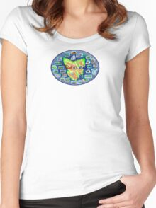 Tasmania Women's Fitted Scoop T-Shirt