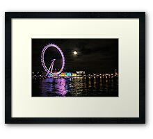 Night on the Thames Framed Print