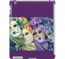 Rainbow masks  iPad Case/Skin