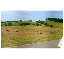 The Rolling Hills Of Kentucky Poster