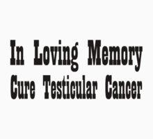 Testicular Cancer Kids Clothes
