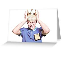 King Rap Monster BTS Greeting Card