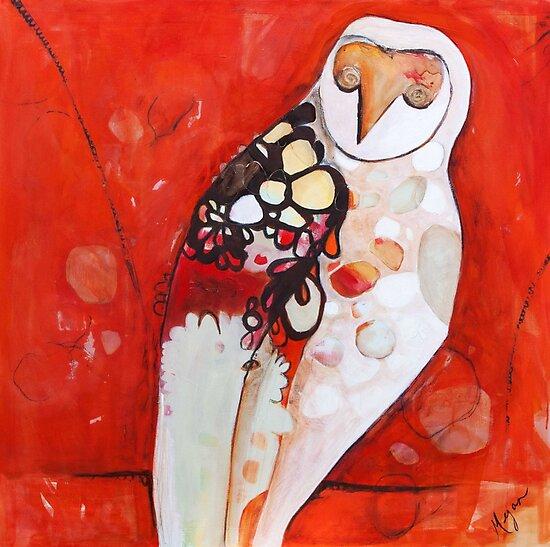Masked Owl by Megan Schliebs