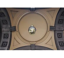 Architechtural detail, Victorian-era building Photographic Print
