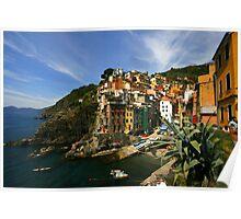 Riomaggiore Cinque Terre Poster