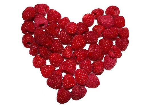 Raspberry Heart by theartguy