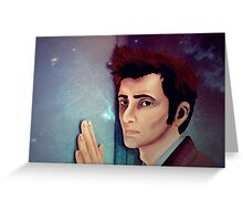 The Curse of the Timelords Greeting Card