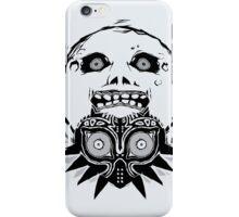 Majora's mask - Black iPhone Case/Skin