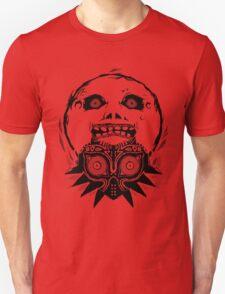 Majora's mask - Black T-Shirt