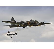 Memphis Belle and Snafu Photographic Print