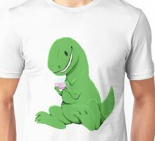 Rex playing the DS Unisex T-Shirt