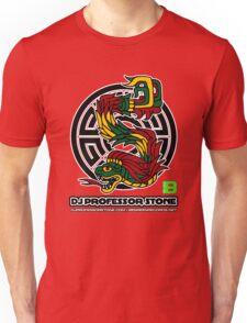 DJ Professor Stone - July 2012 Merch ver 777 black Unisex T-Shirt