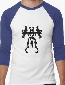 Monster Robot Men's Baseball ¾ T-Shirt