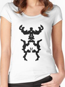 Monster Robot Women's Fitted Scoop T-Shirt