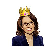 Liz lemon queen Photographic Print