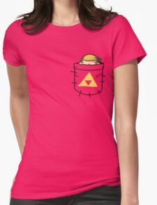 Pocket Link (with triforce) Womens Fitted T-Shirt