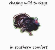 chasing wild turkeys by cactus80
