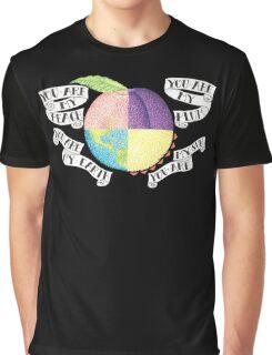 Peach Graphic T-Shirt